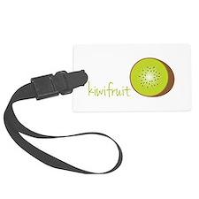 Cut Kiwi Fruit Luggage Tag