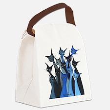 Escondido Stray Cats Canvas Lunch Bag
