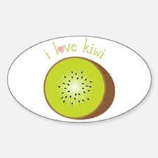I Love Kiwi Decal