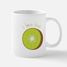 I Love Kiwi Mugs
