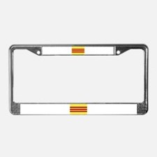 Vietnamese Flag License Plate Frame