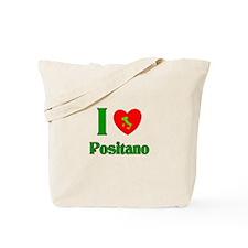 I Love Positano Tote Bag