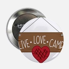 """Live Love Camping 2.25"""" Button (10 pack)"""
