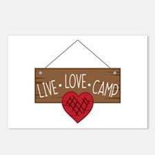 Live Love Camping Postcards (Package of 8)
