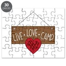 Live Love Camping Puzzle