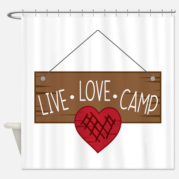 Camping Shower Curtains Camping Fabric Shower Curtain Liner