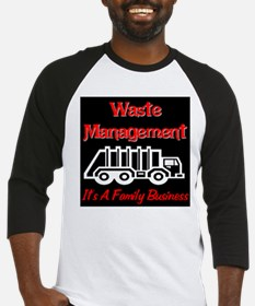 Waste Management It's A Famil Baseball Jersey