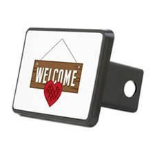 Welcome Board Hitch Cover