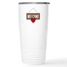 Welcome Board Travel Mug