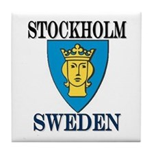 The Stockholm Store Tile Coaster