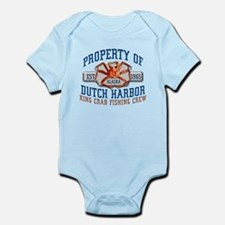 DUTCH HARBOR CRABBING Infant Bodysuit