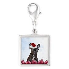Christmas French Bulldog Charms