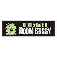 """ My Other Car is a Doom Buggy"" Bumper Bumper Sticker"