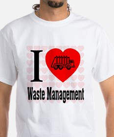 I Love Waste Management Shirt