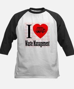 I Love Waste Management Tee