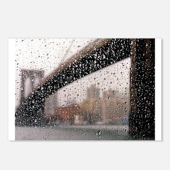 Brooklyn Bridge: Wet Series Postcards (Package of