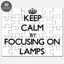 Keep Calm by focusing on Lamps Puzzle
