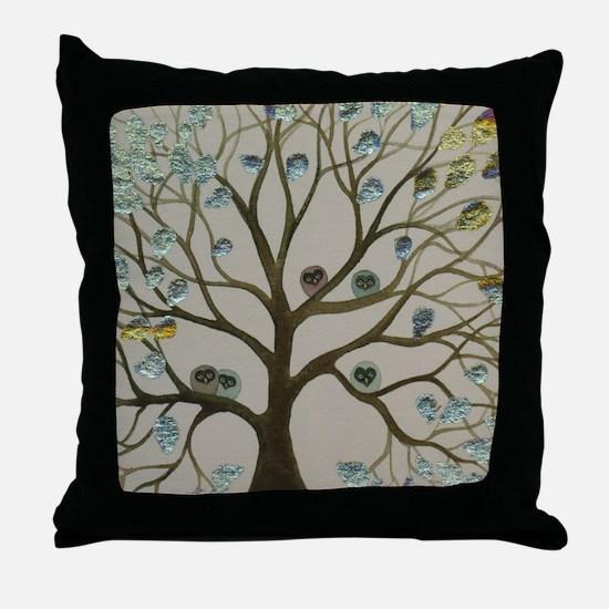 Ontario Owlettes Throw Pillow