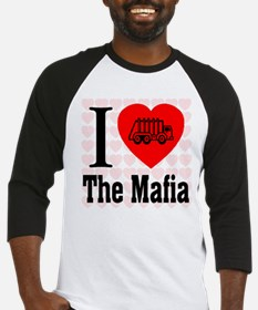 I Love The Mafia Garbage Truc Baseball Jersey
