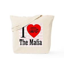 I Love The Mafia Garbage Truc Tote Bag