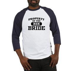 Property of the Bride Baseball Jersey