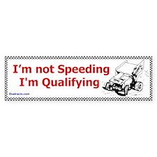 Qualifing Bumper Bumper Sticker