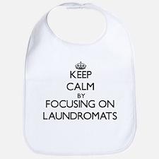 Keep Calm by focusing on Laundromats Bib