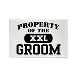 Property of the Groom Rectangle Magnet
