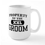 Property of the Groom Large Mug