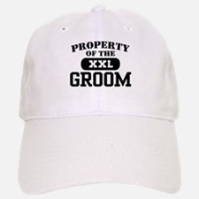 Property of the Groom Baseball Baseball Cap