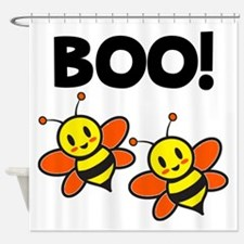 Boo Bees Shower Curtain