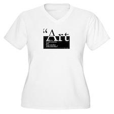 Art Plus Size T-Shirt