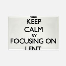 Keep Calm by focusing on Lent Magnets