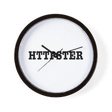 HTTPSTER Wall Clock