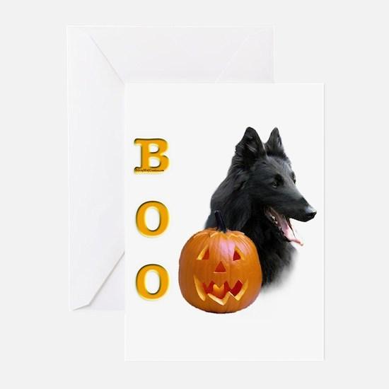 Belgian Sheepdog Boo Greeting Cards (Pk of 10)