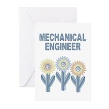 Mechanical Engineer Greeting Cards (Pk of 10)