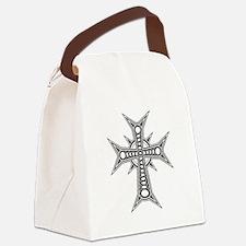 Cross Canvas Lunch Bag