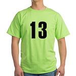 Sarcastic 13 Green T-Shirt