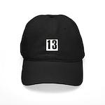 Sarcastic 13 Black Cap
