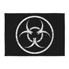 Biohazard 5'x7'Area Rug