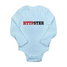 HTTPSTER Long Sleeve Infant Bodysuit
