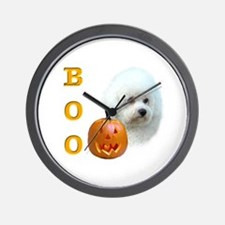 Bichon Boo Wall Clock