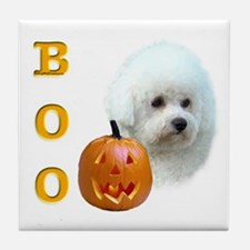 Bichon Boo Tile Coaster