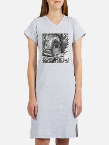 Mountain Lion Hideout Women's Nightshirt