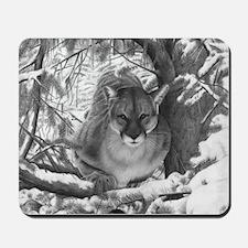 Mountain Lion Hideout Mousepad