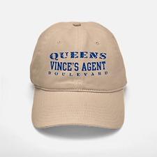 Vince's Agent - Queens Blvd Baseball Baseball Cap