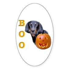B&T Coonhound Boo Oval Decal