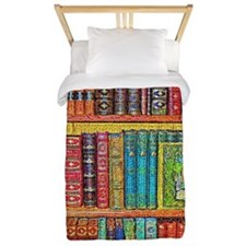 Library Twin Duvet