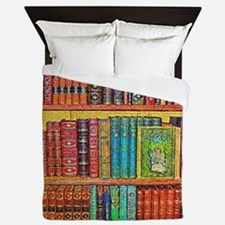 Library Queen Duvet