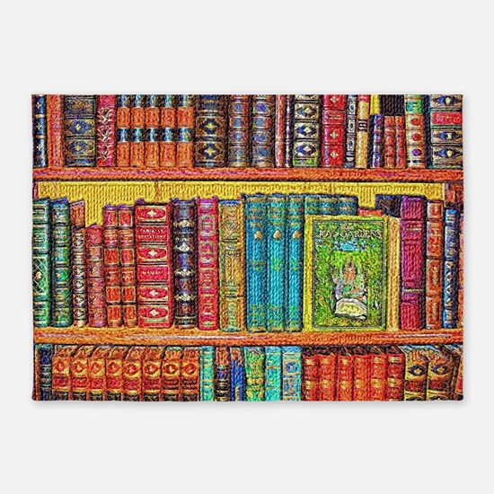 Library 5'x7'Area Rug